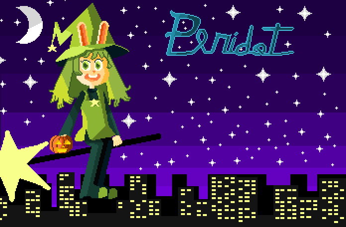 Peridot's Halloween Ride