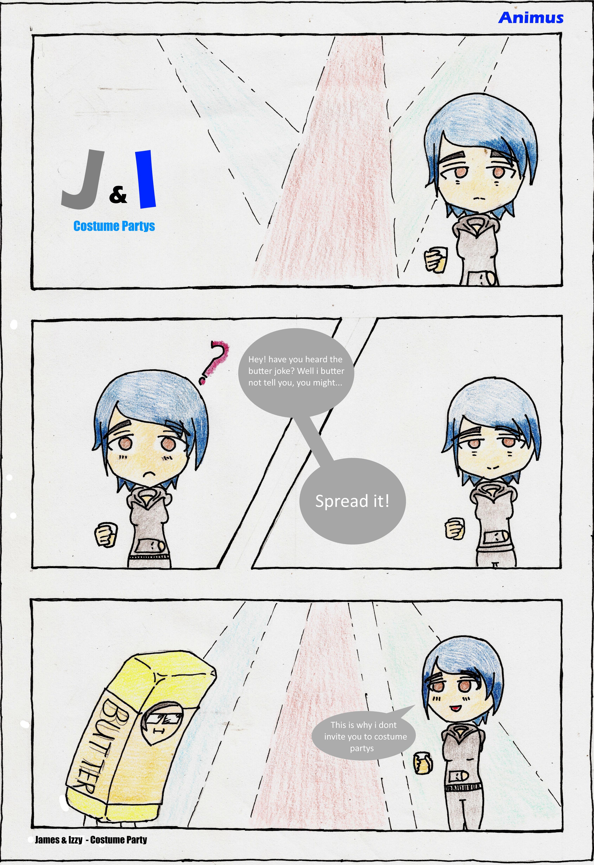 James & Izzy - comic short