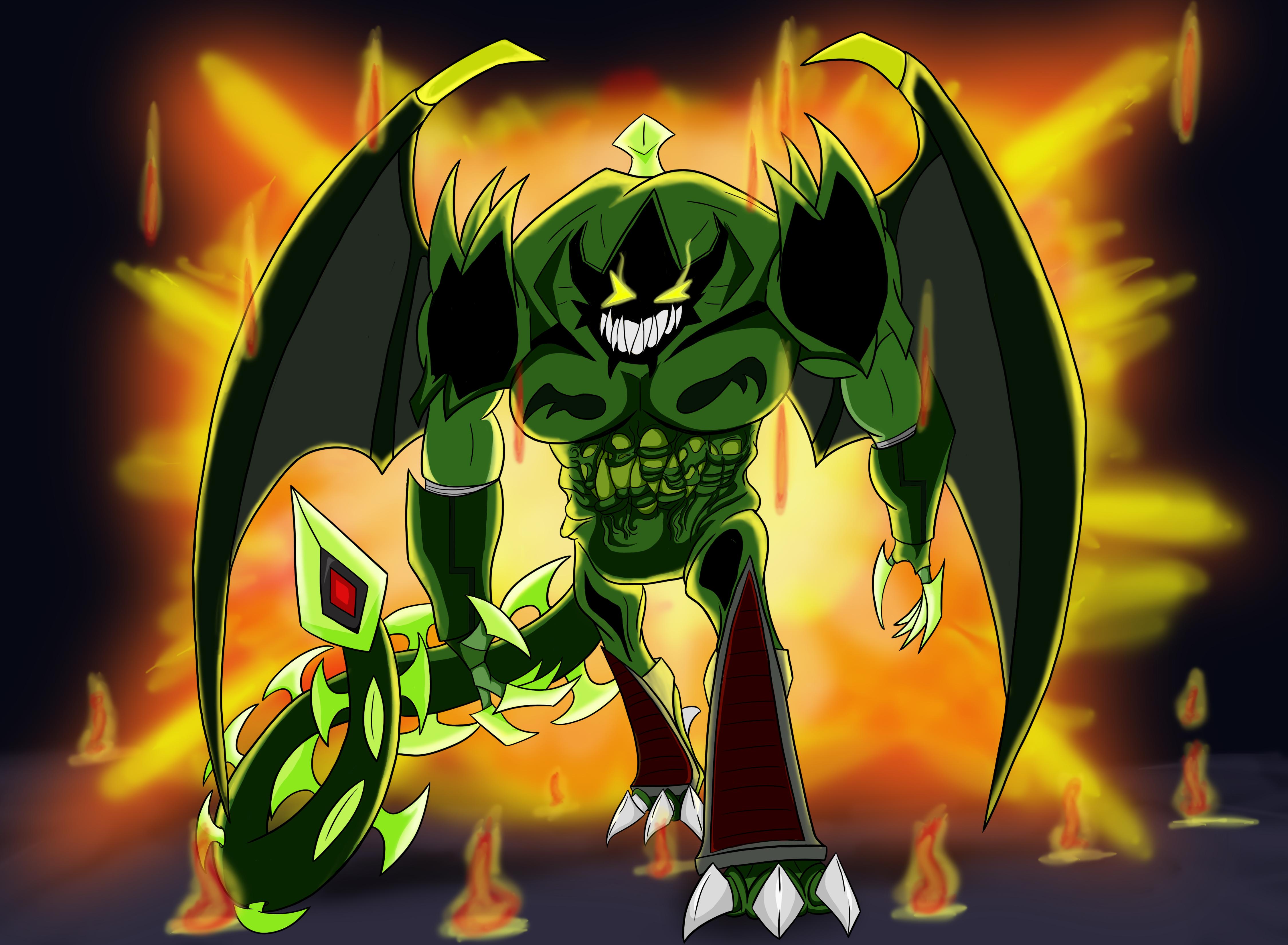 Demon's wrath