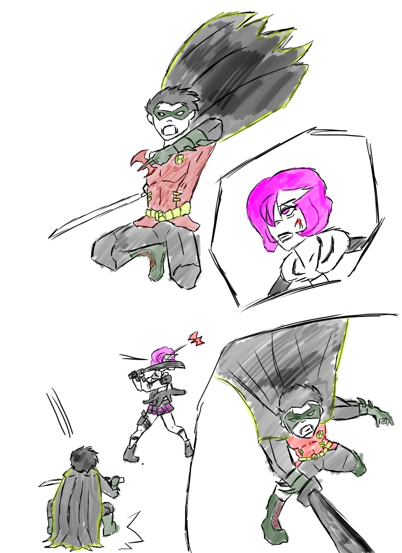 Robin vs OC