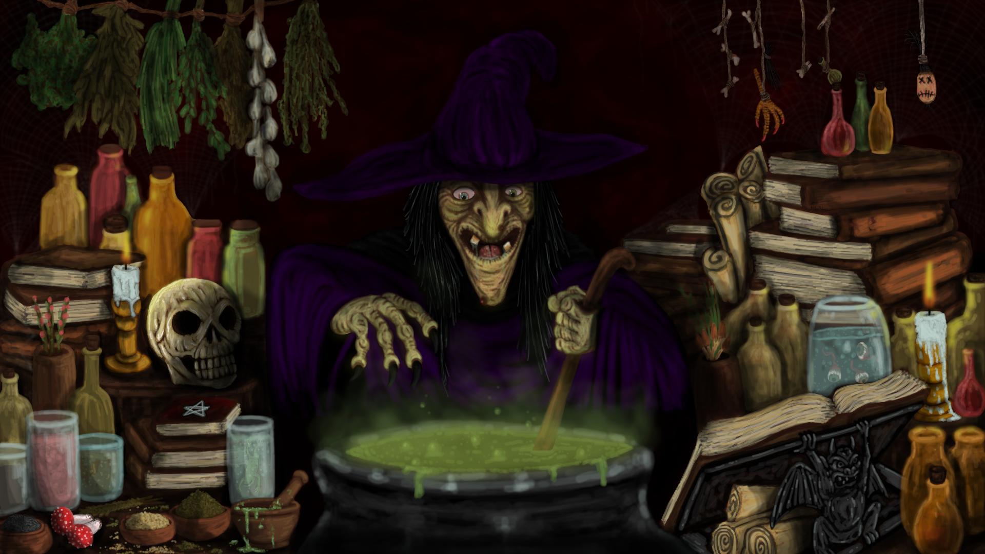Potion Making Room Medieval Minecraft