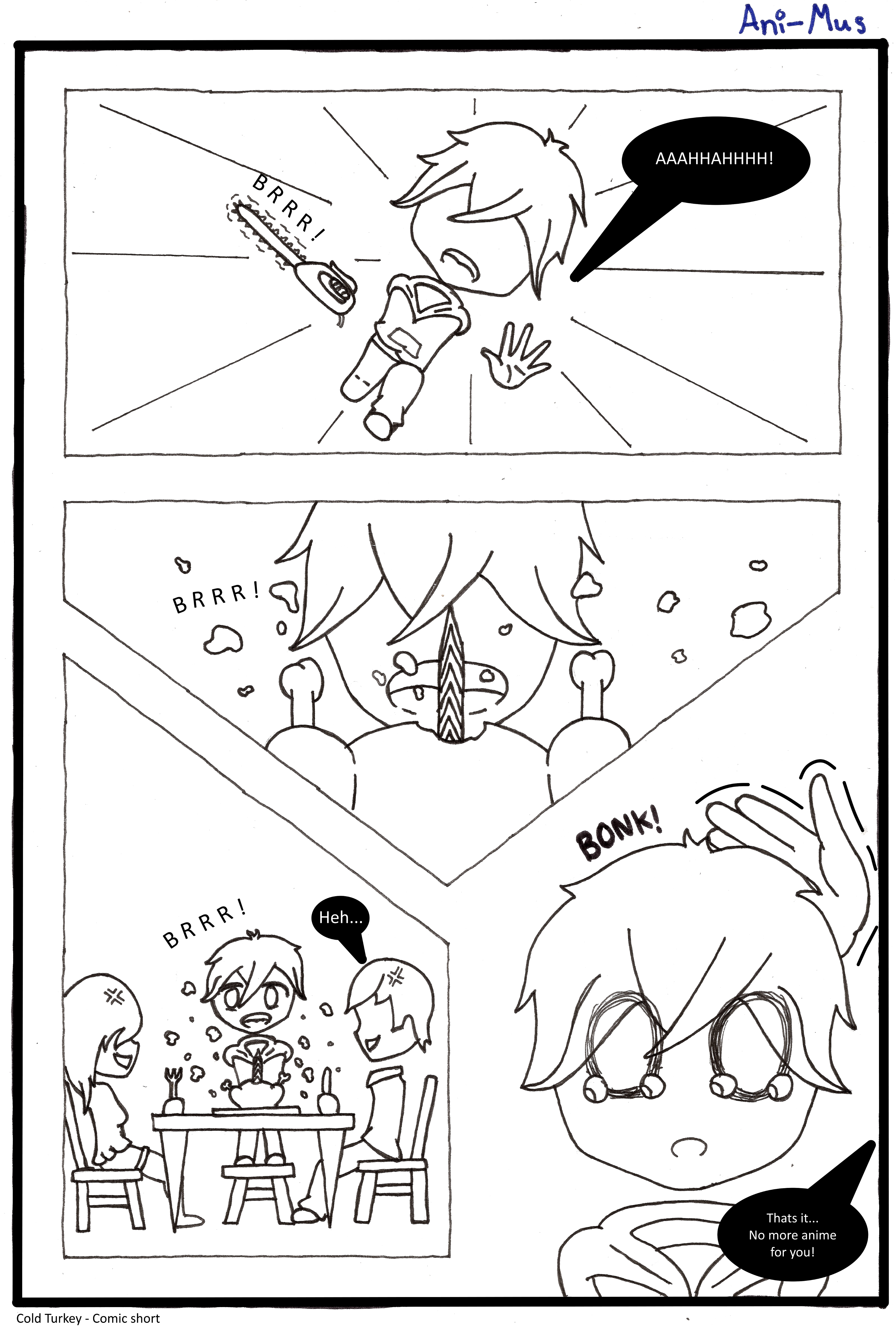 Never enough Anime