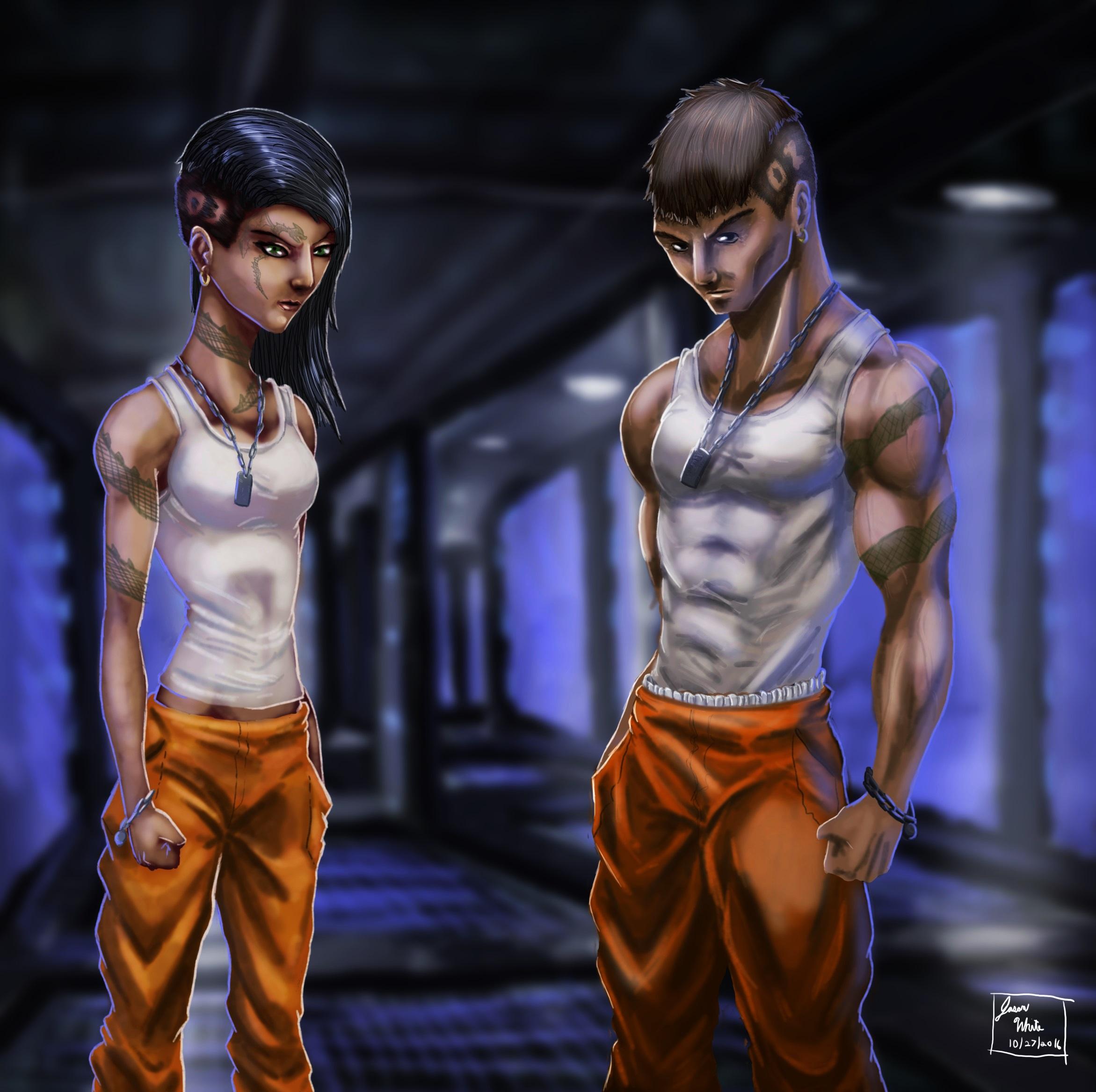 SpaceShip Inmates