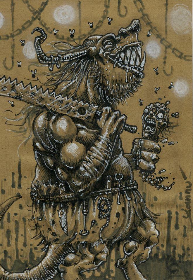 Halloween Daily monster #30
