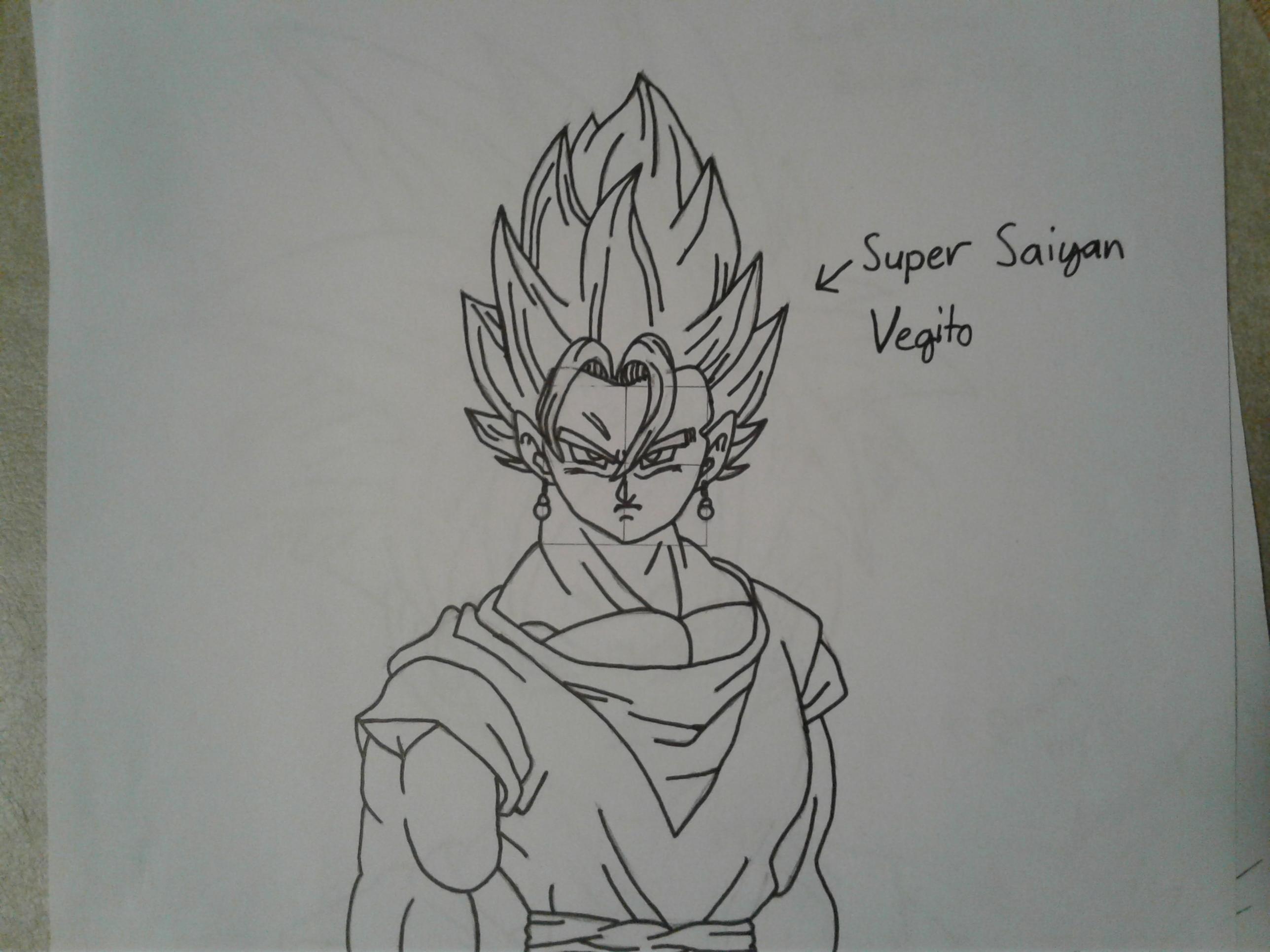 Super Saiyan Vegito