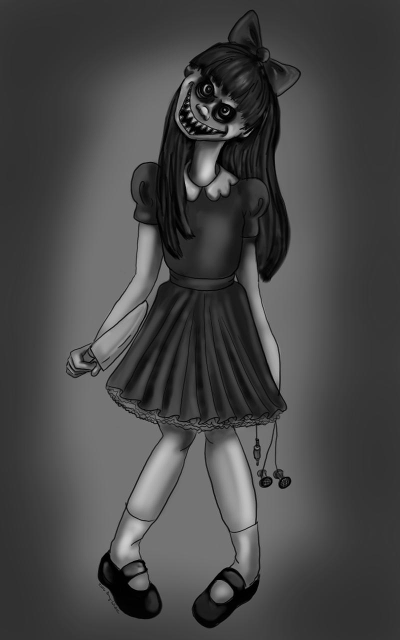 inktober: creepy
