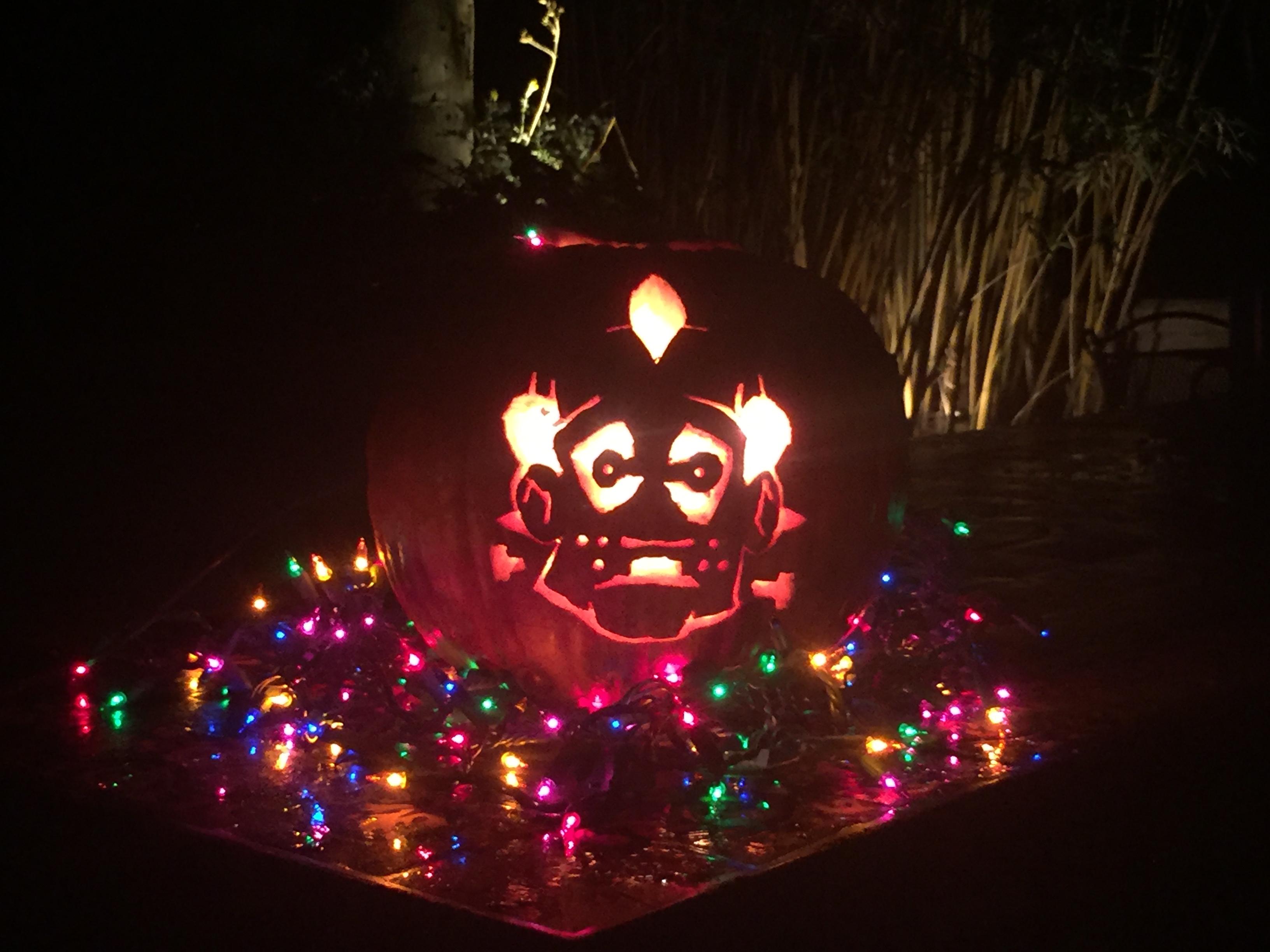 The Little Jester (Pumpkin Carving)
