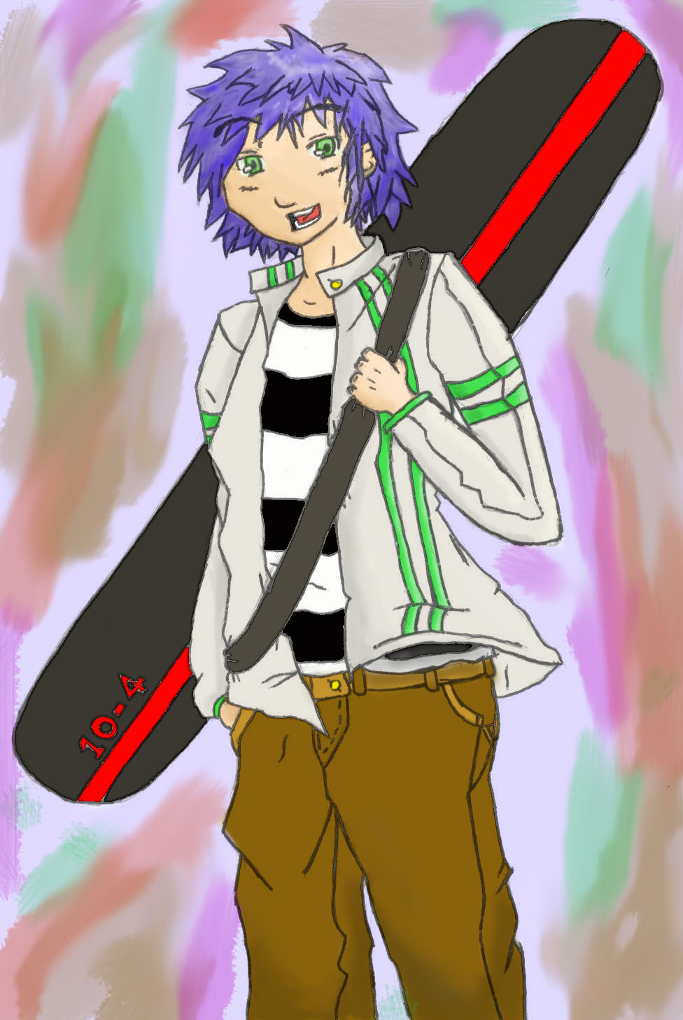 Snowboarder Sota