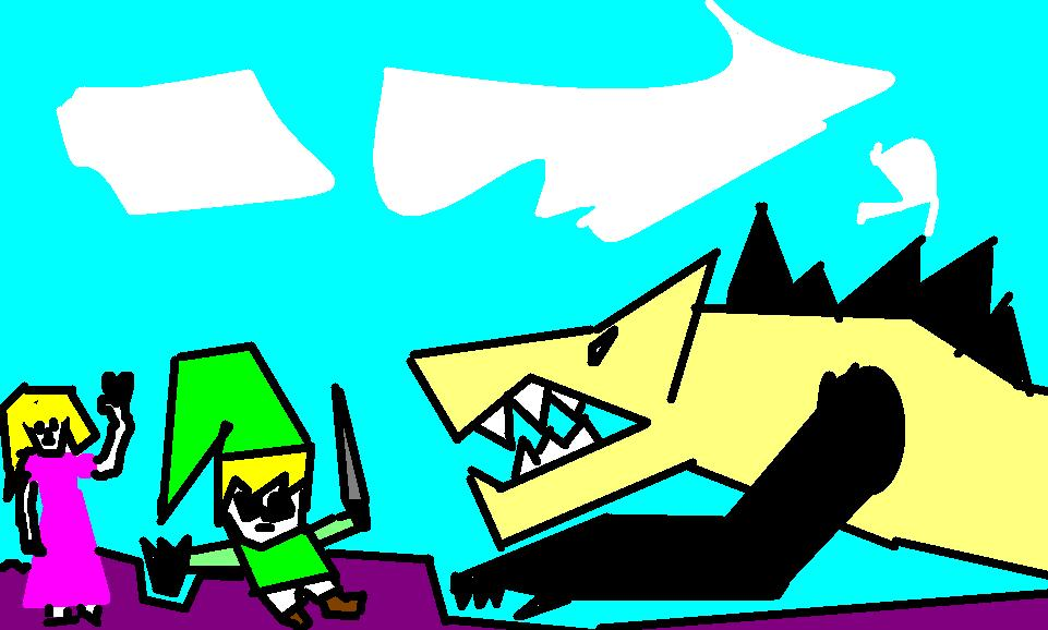 Link Vs Monster