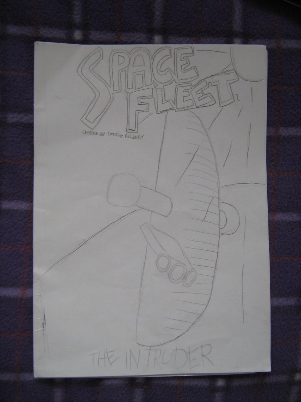 Space Fleet - Intruder Cover