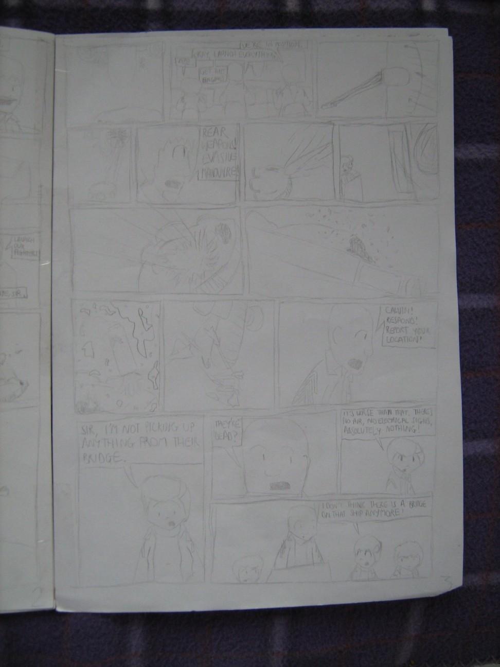 Space Fleet - Intruder Page 3