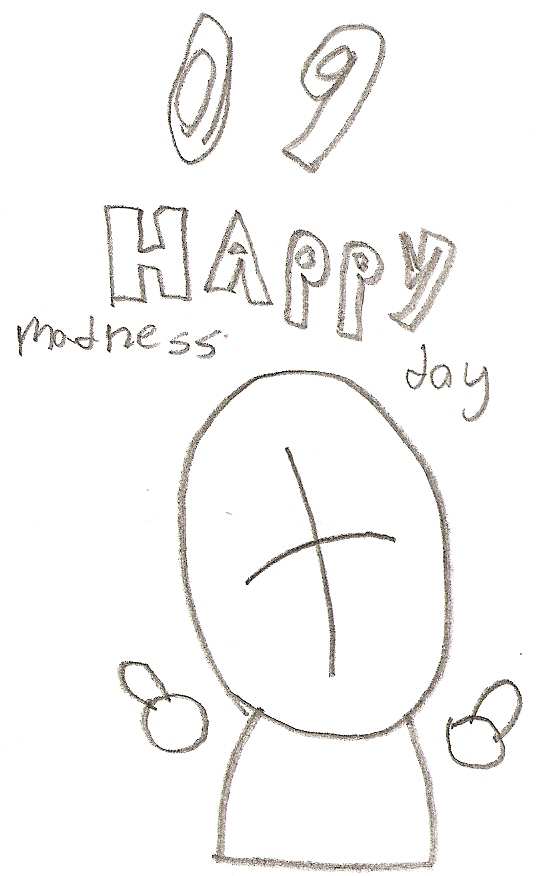 Madness day 09 card