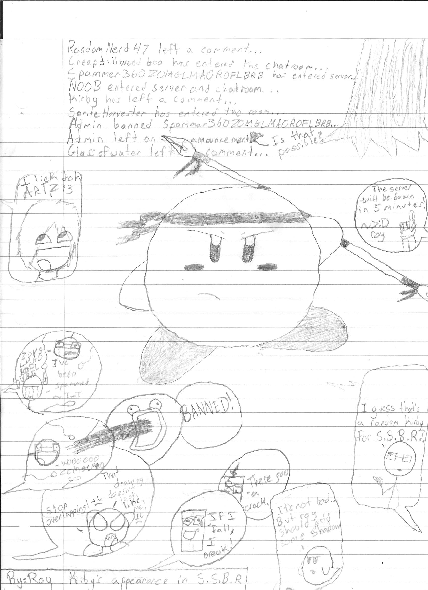 Kirby Chatroom!