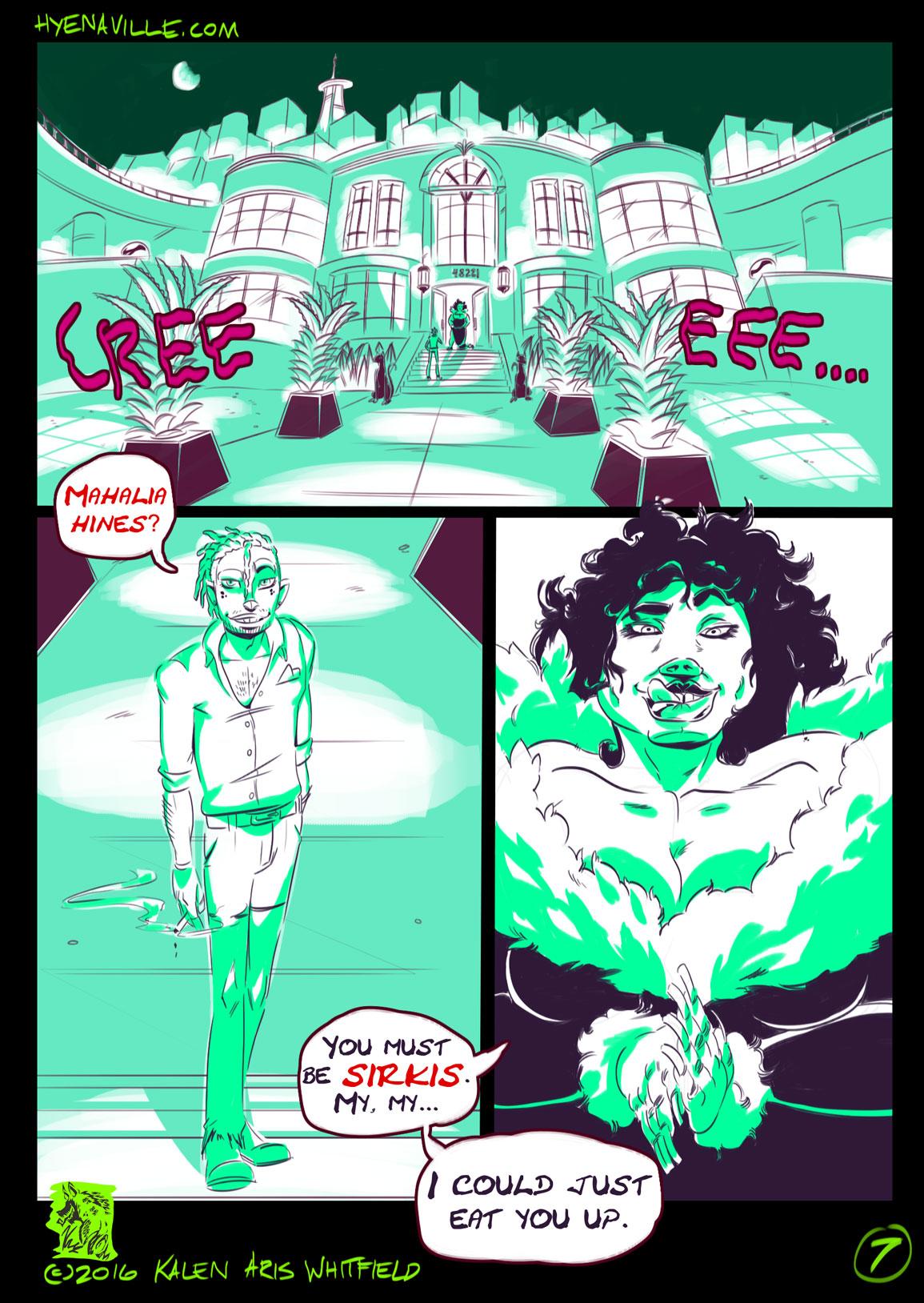 HYENAVILLE page 7