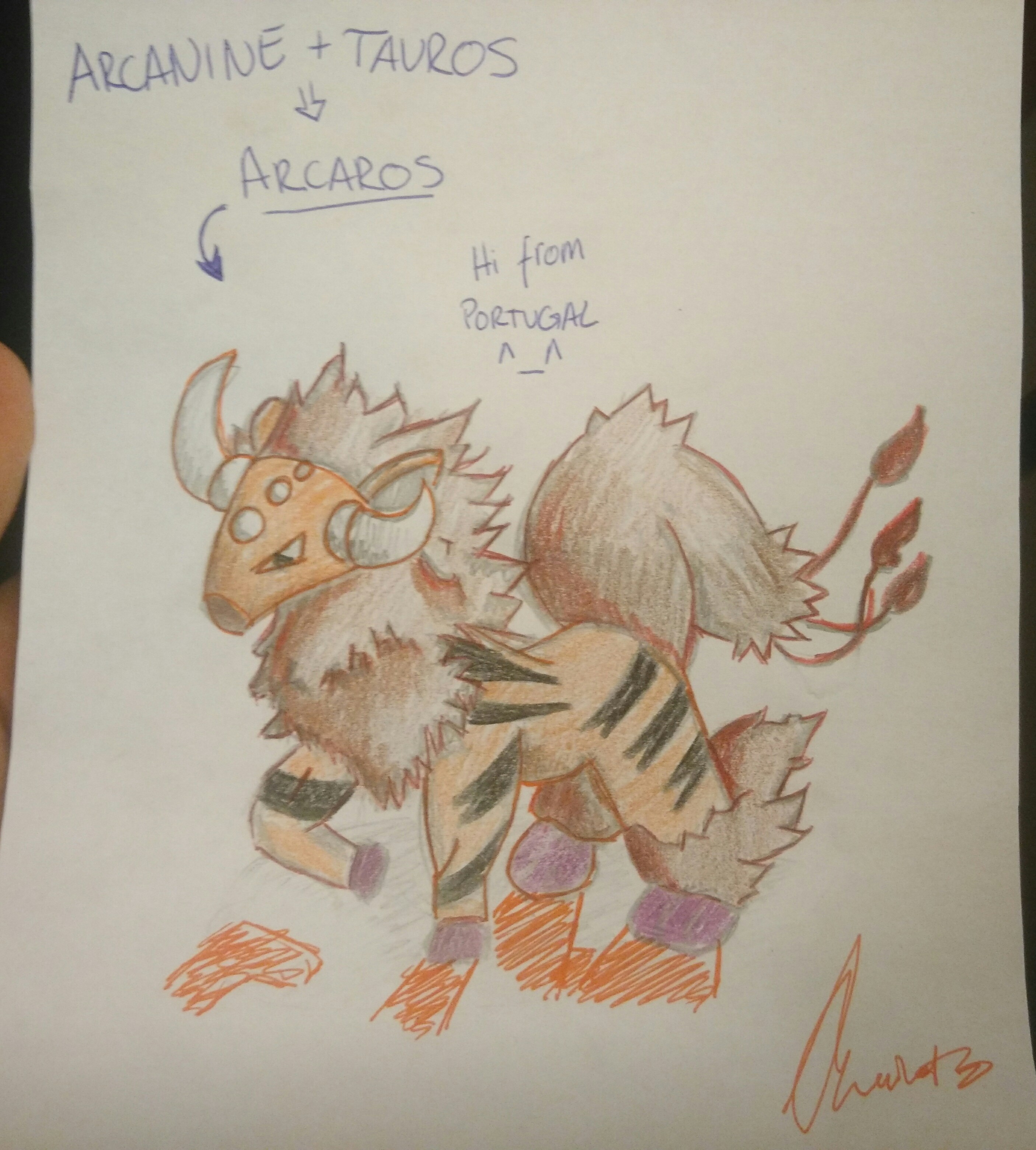 Arceos came to destroy [Taurus + arcanine]