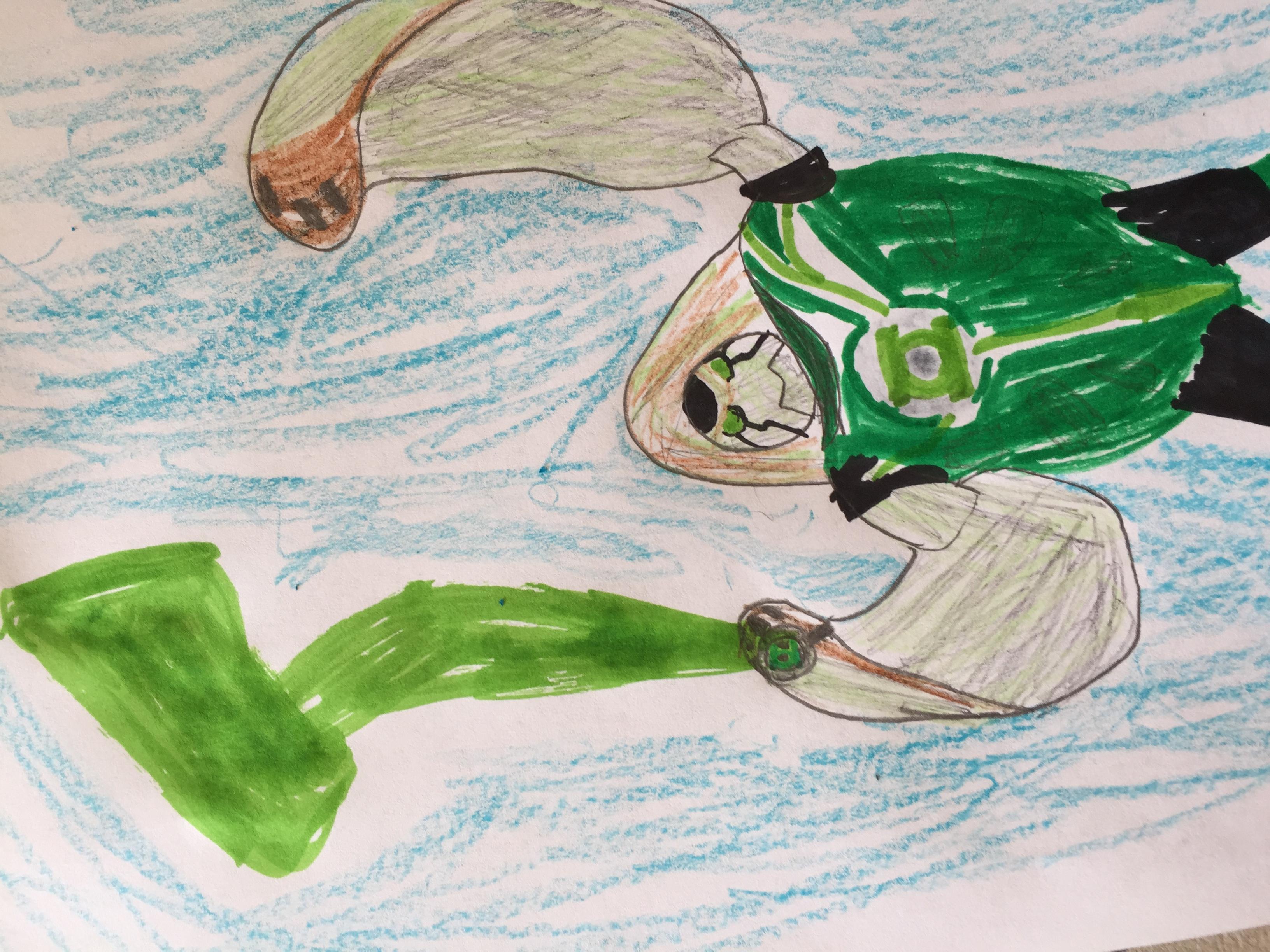 Terra spin green lantern