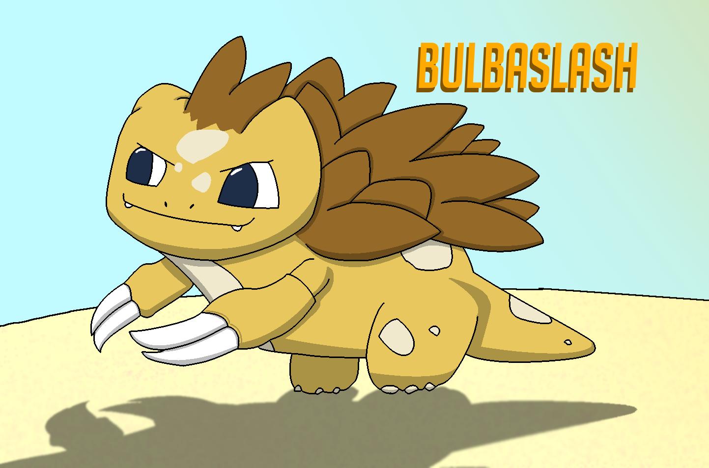 Bulbasaur + Sandslash =...