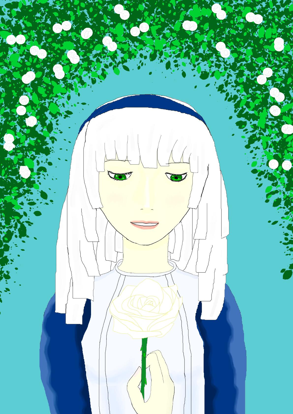 Animegirl51PrincesswithRoses
