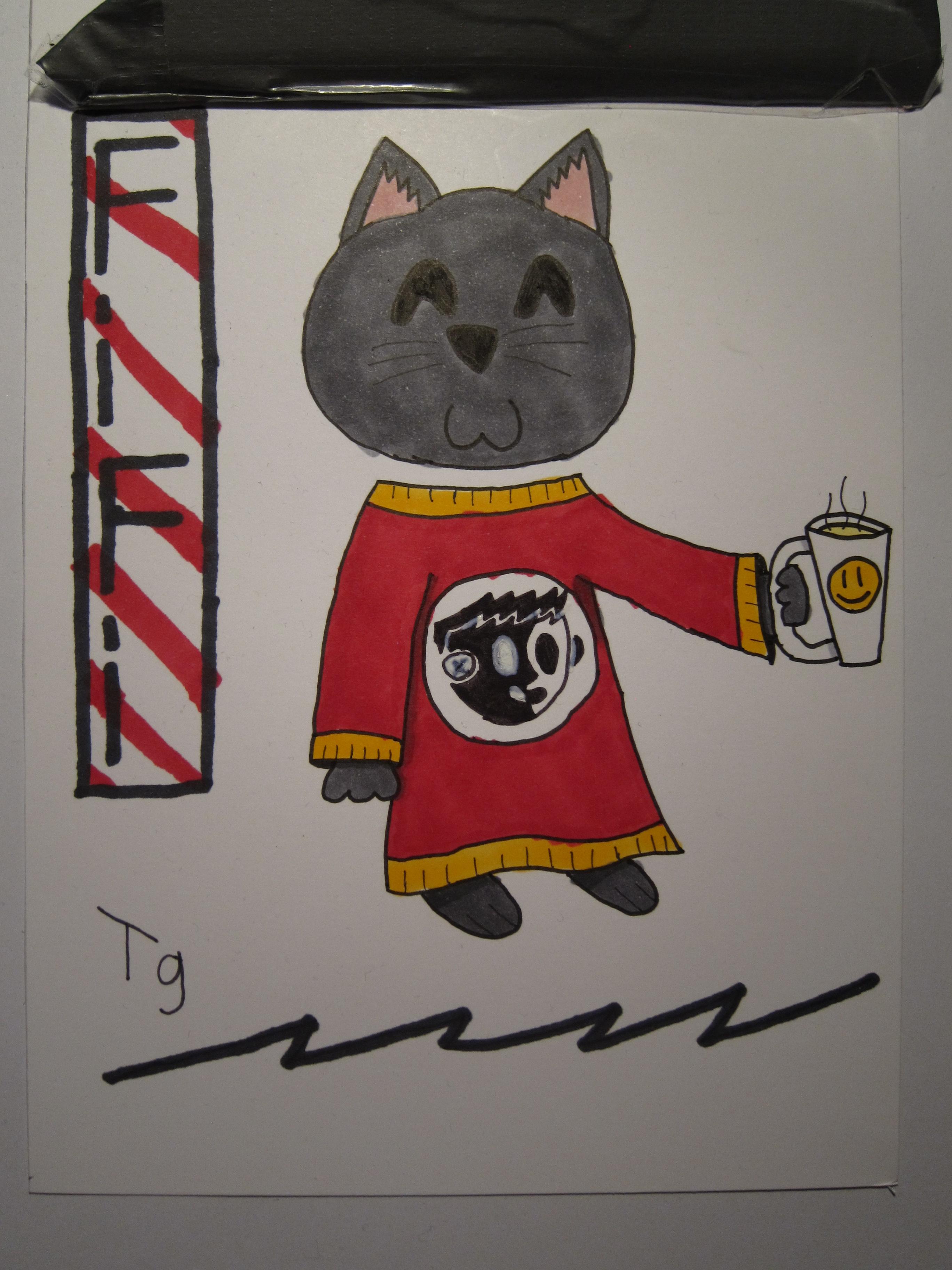 the cutey cat fifi