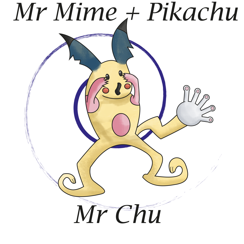mr mine + pikachu = mr chu