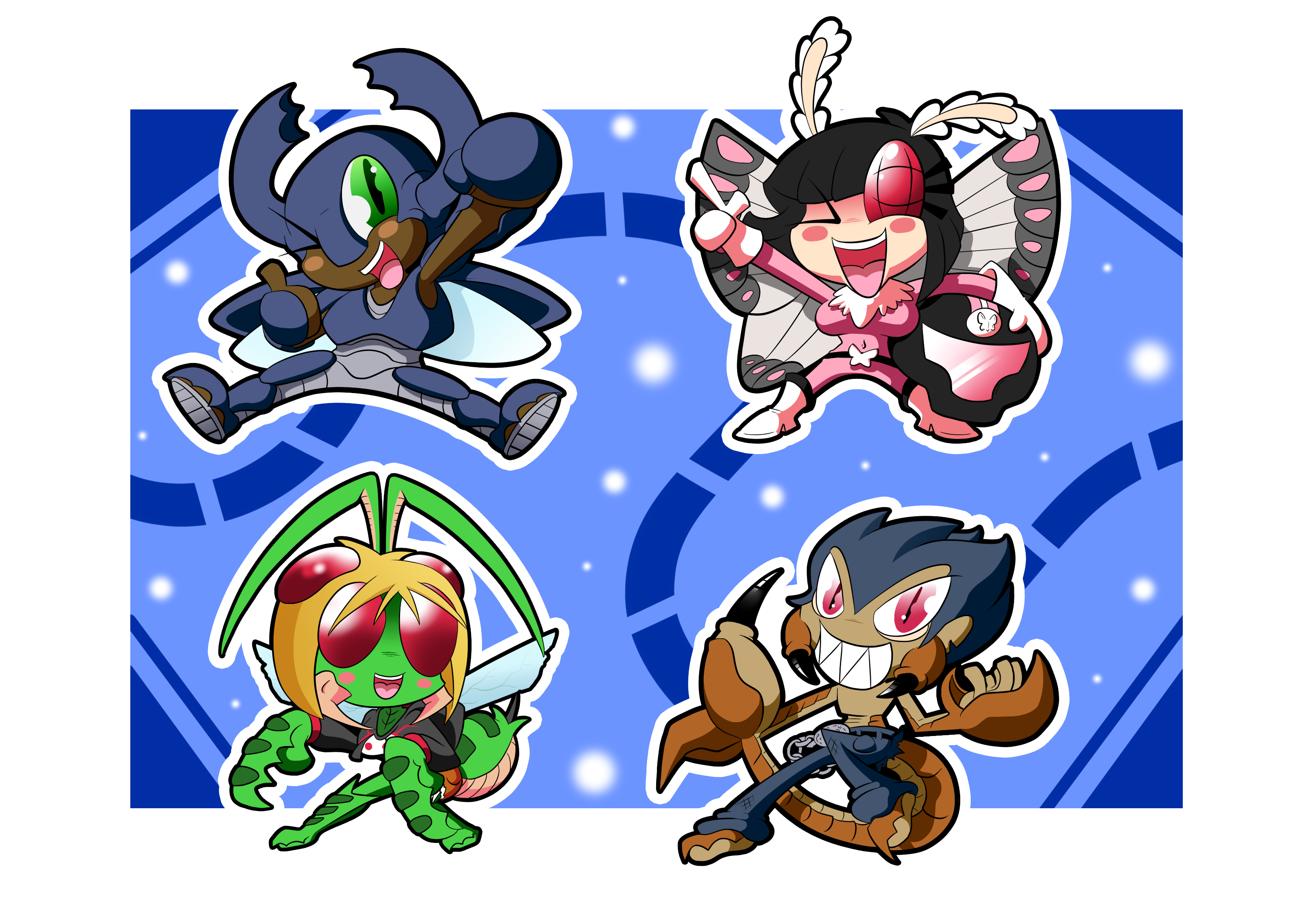 Freedom Flyers Chibis
