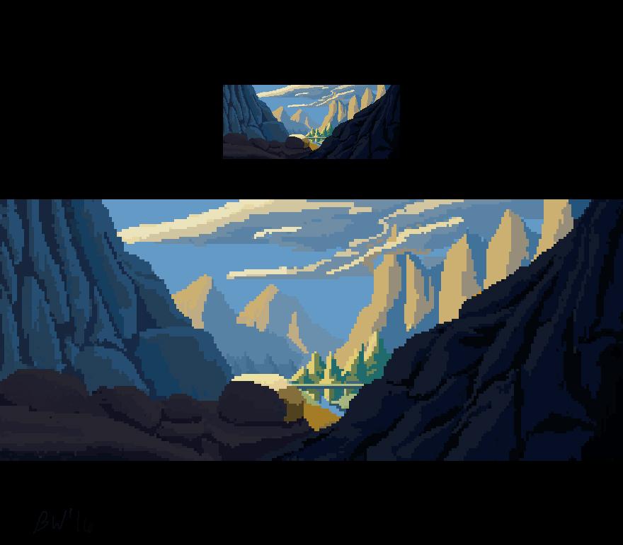 First Pixel Art