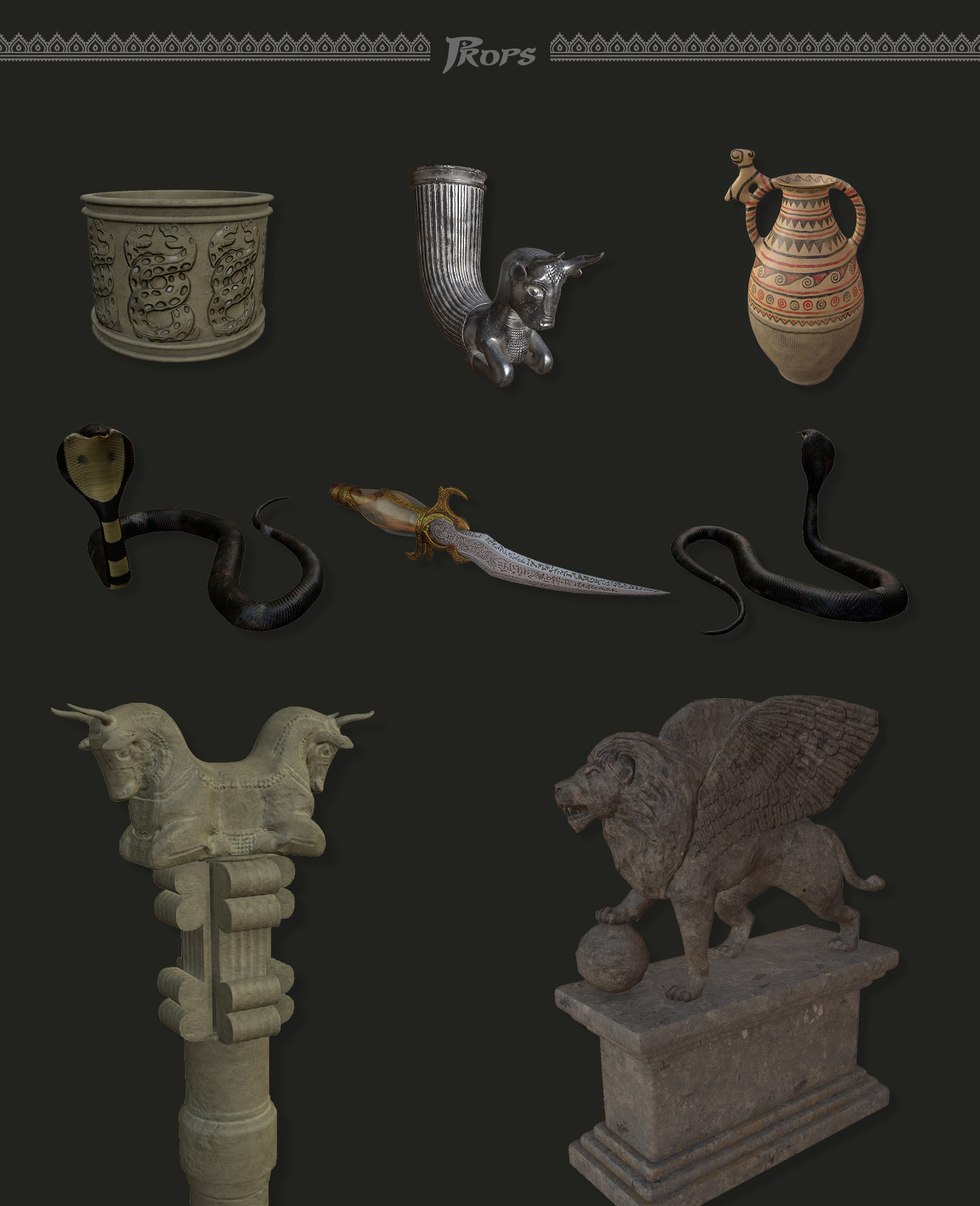 Prince of persia Chalenge props