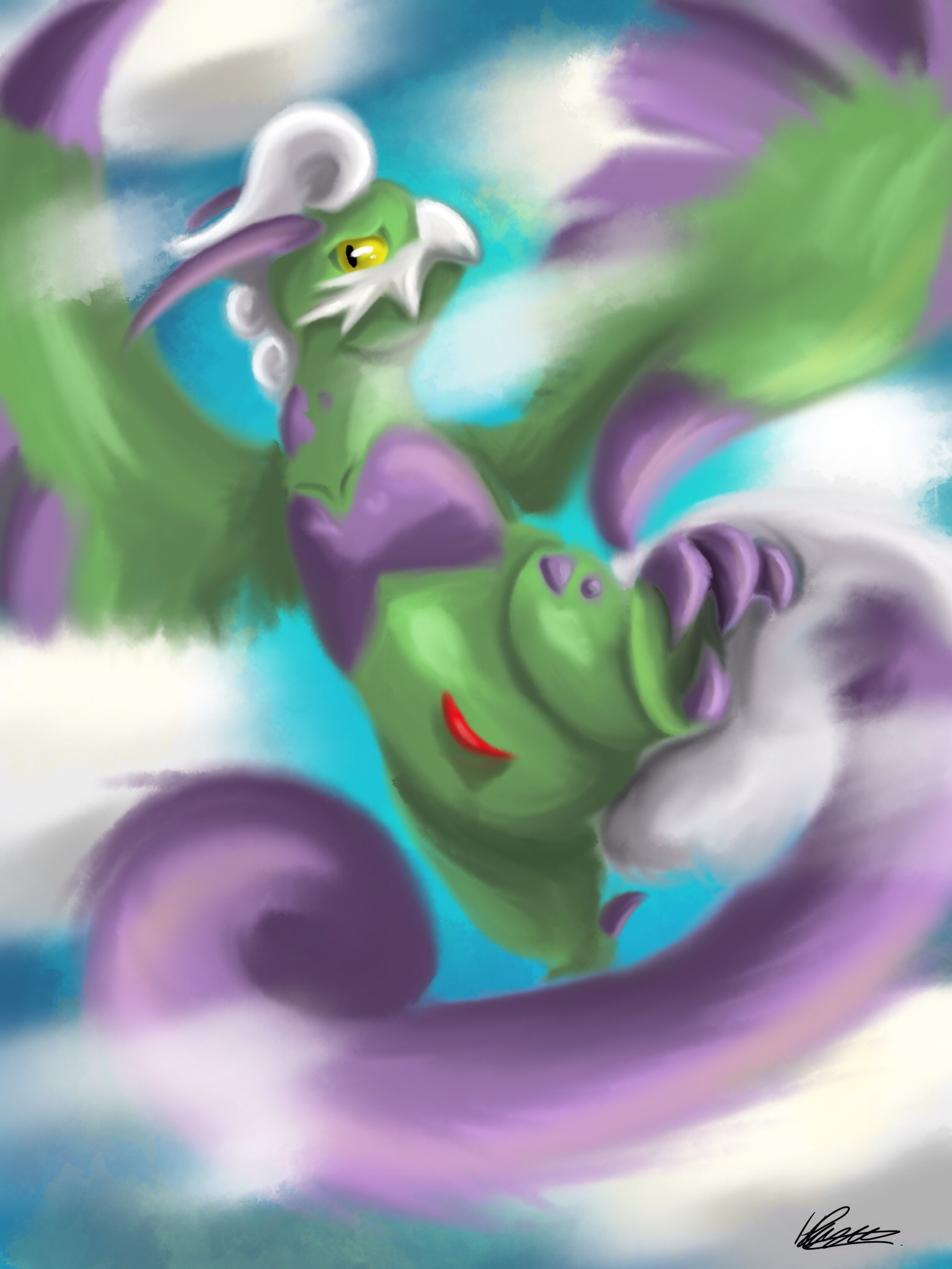 tornadus therian form