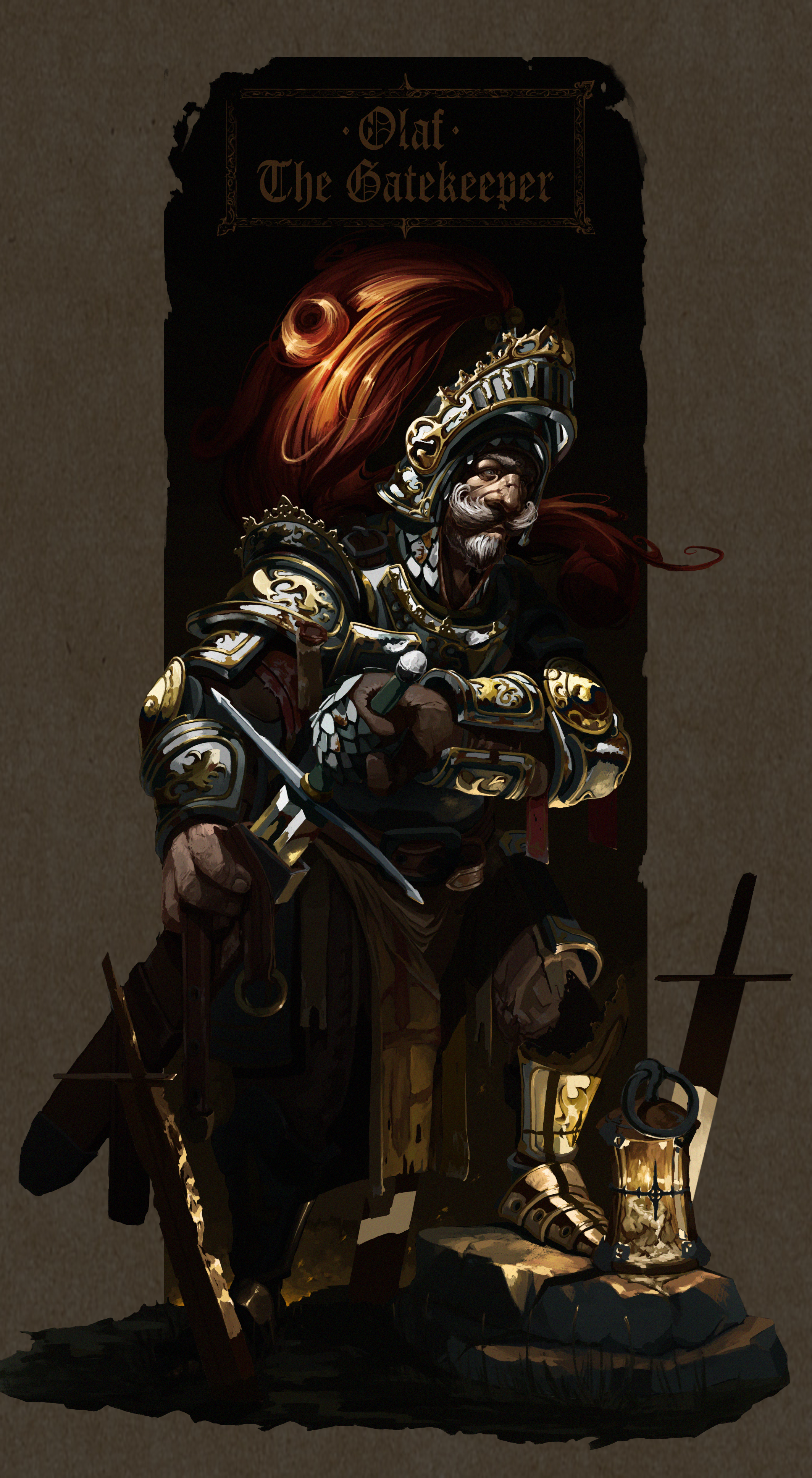 Olaf overpaint