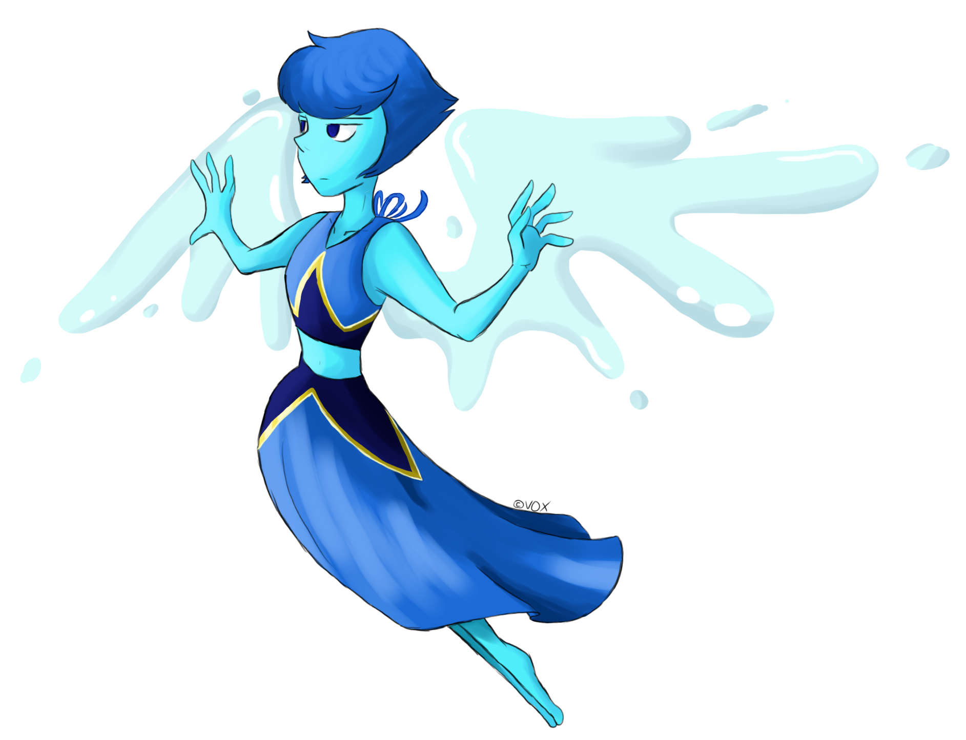 Lapis Lazuli - 'Crystal Gem'