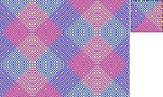 Random pixel art pattern...