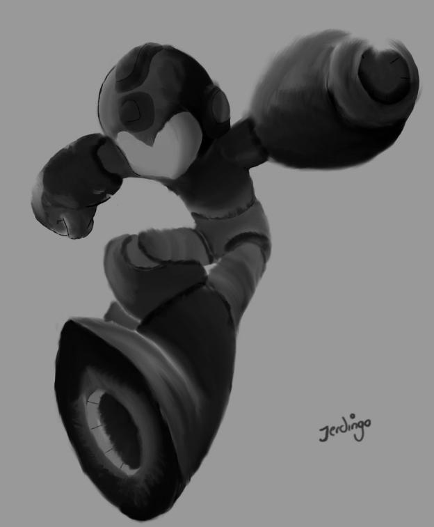 Mega Man Ink Test