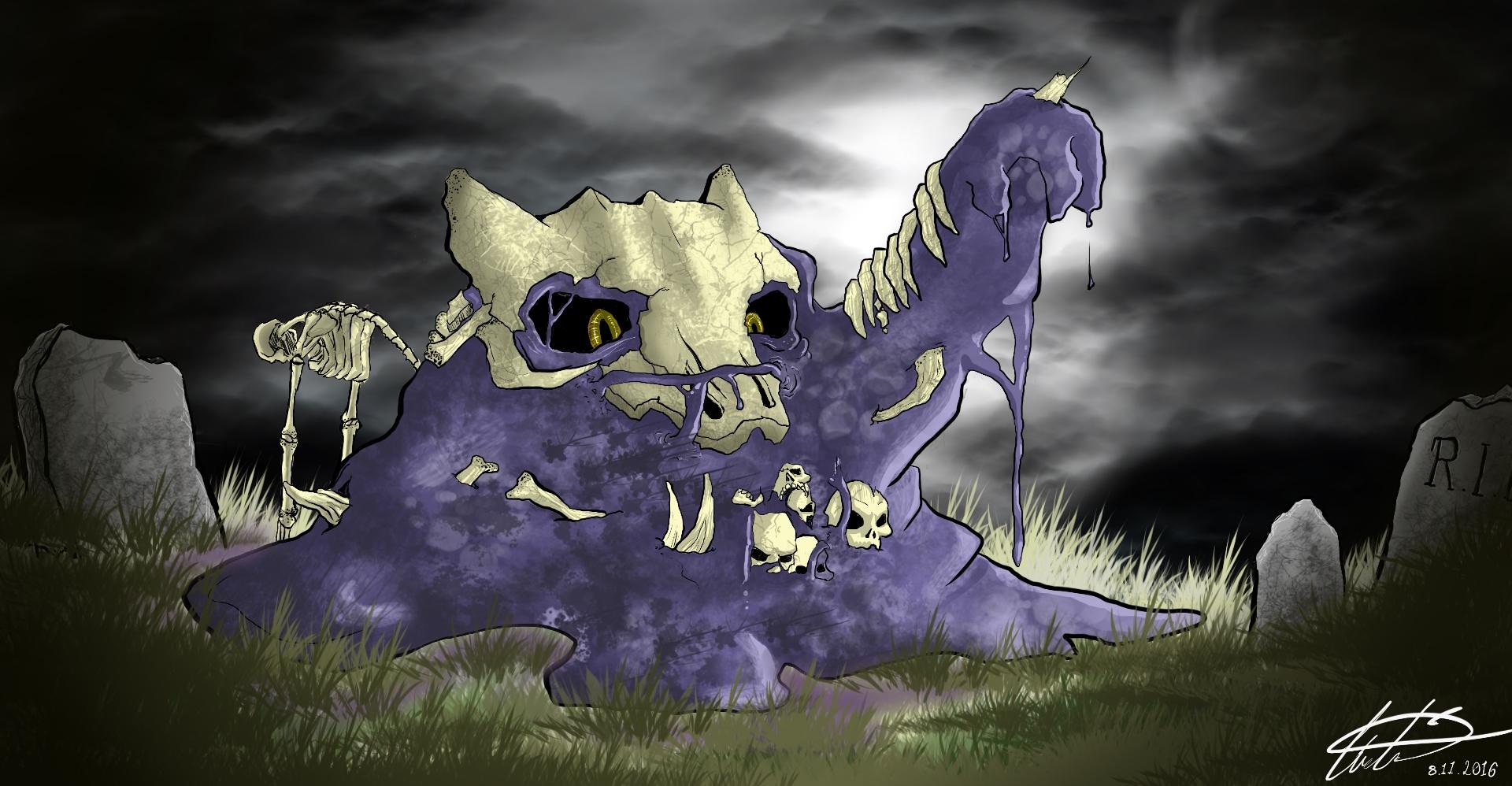 CotM pokemon mashup Muk & Maworak