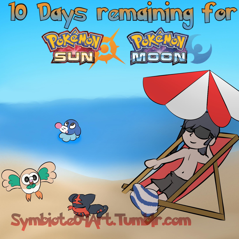 Pokemon Sun and Moon Countdown