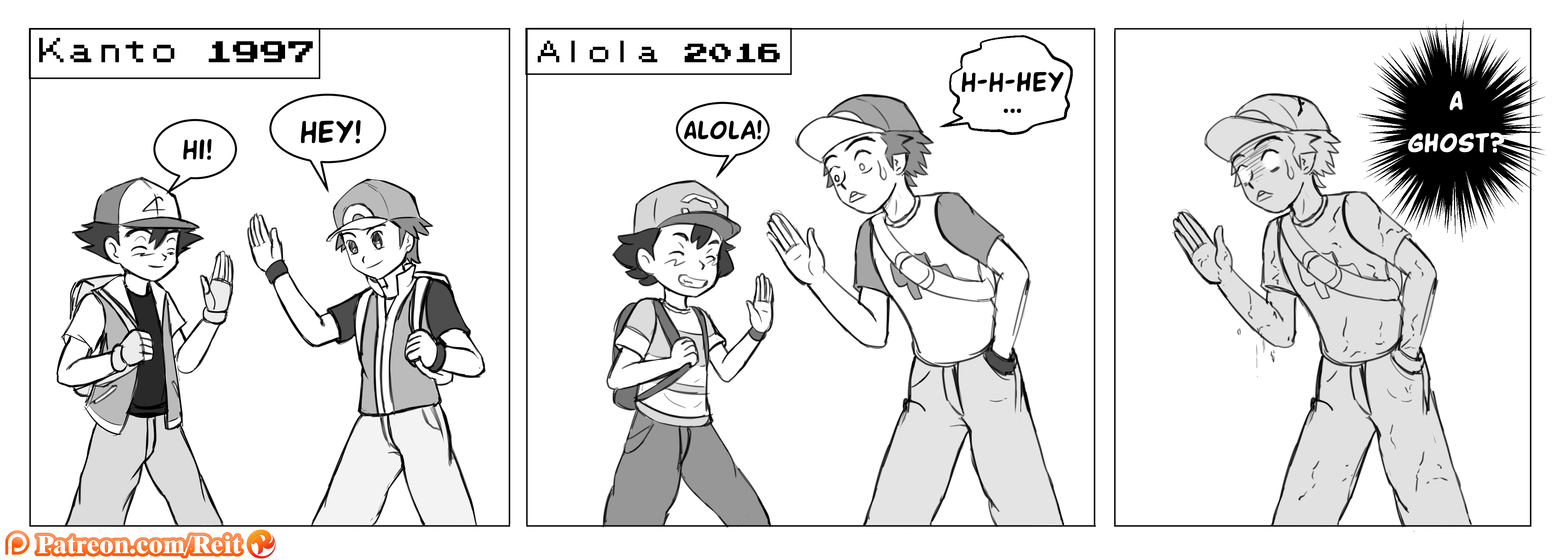 The syndrome of Ash Ketchum