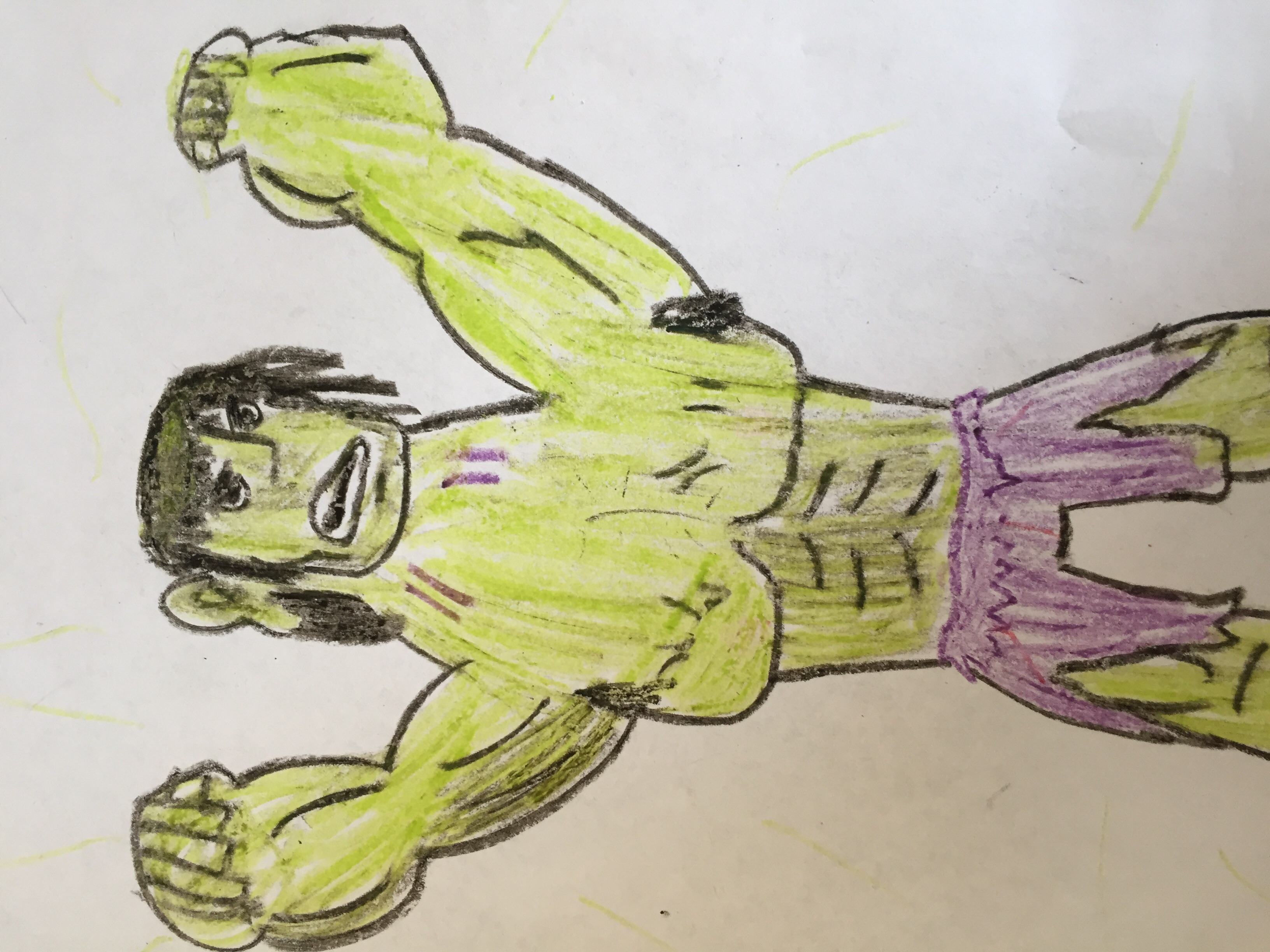 Crayon hulk