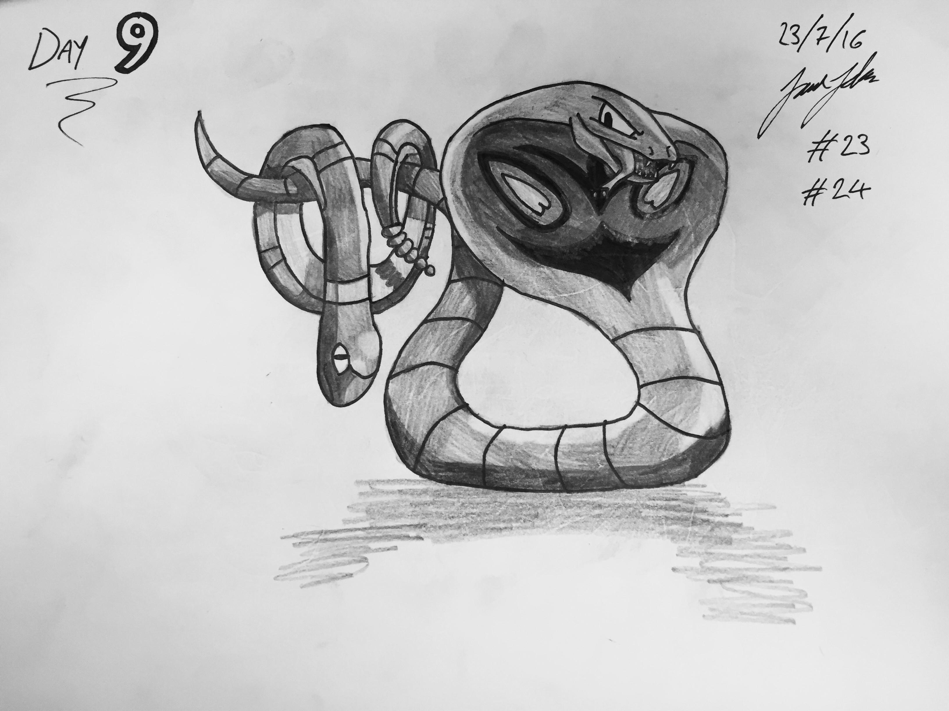 #23 Ekans #24 Arbok