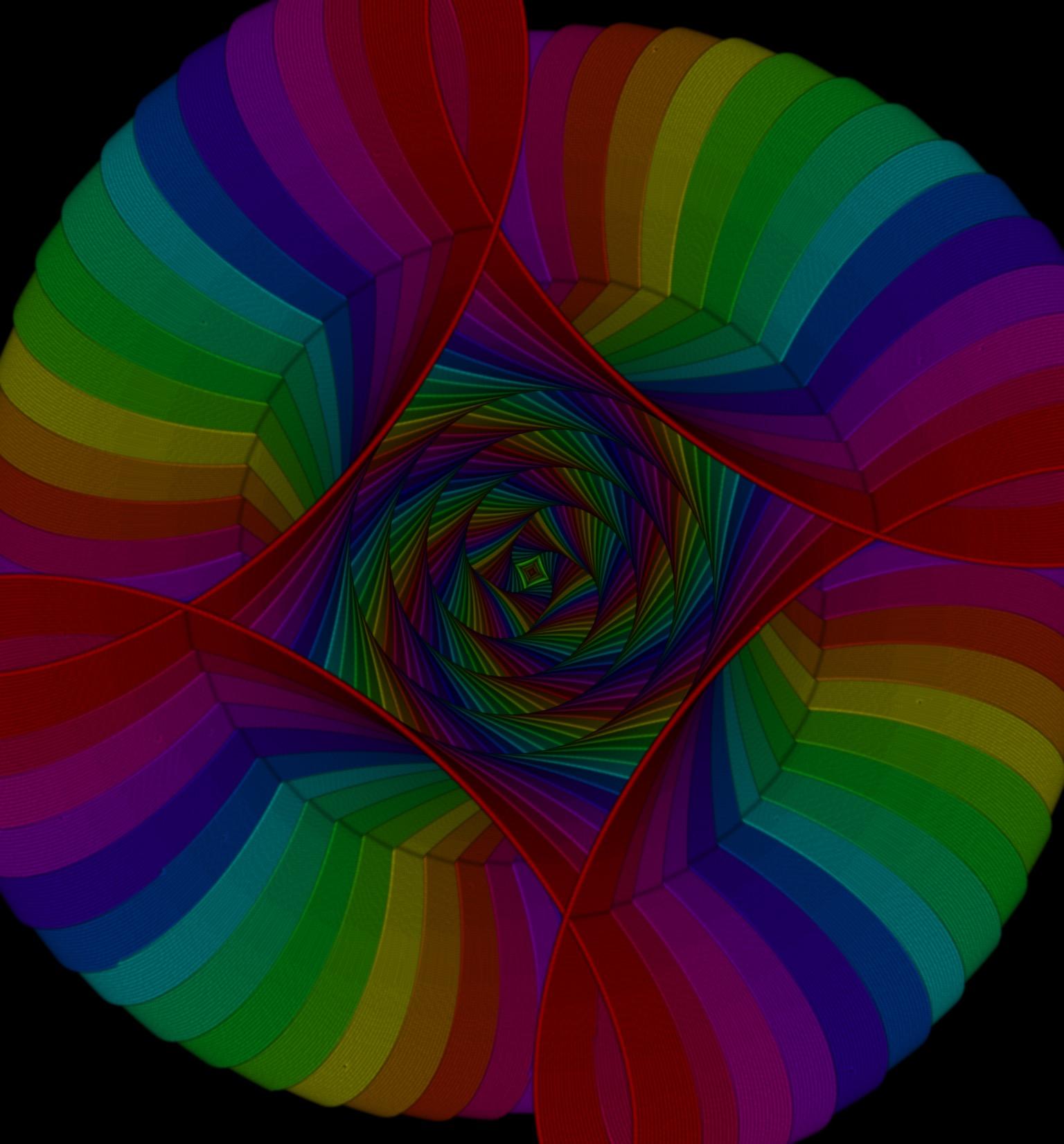 Spiro image #1 <type> rainbow_image <taken from> Gironia (me)
