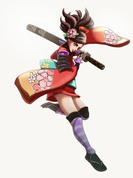 Momohime fanart from Muramasa the demon blade