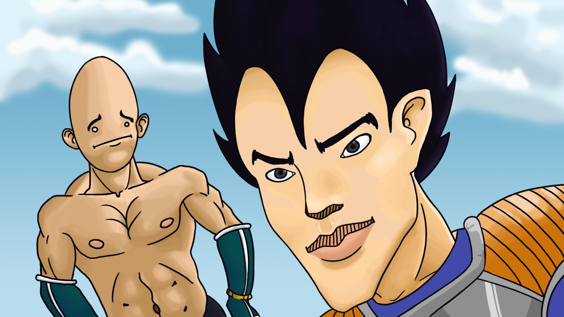 Vegeta... can I fight now?