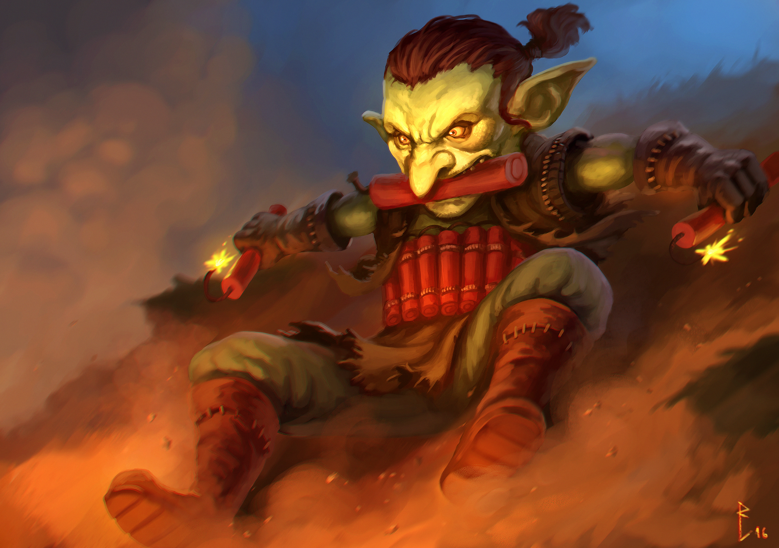 Goblin bomb suicider