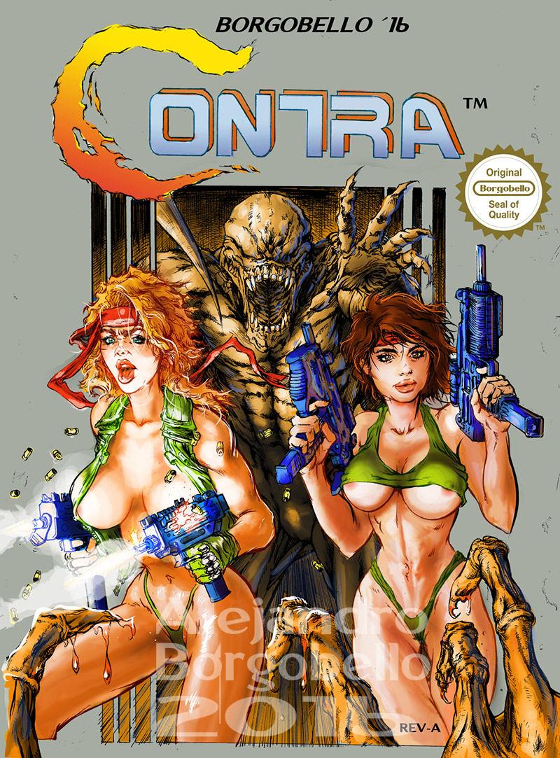 Contra Girls - COMMISSION