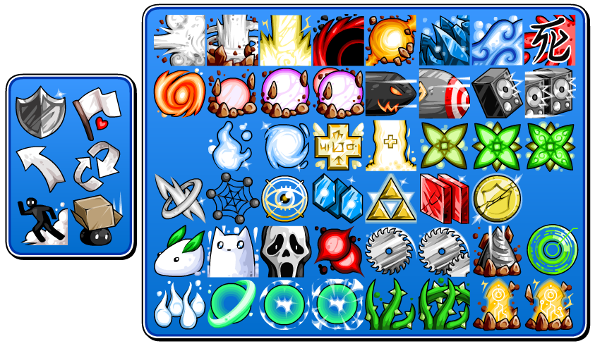 Misc Skill Icons