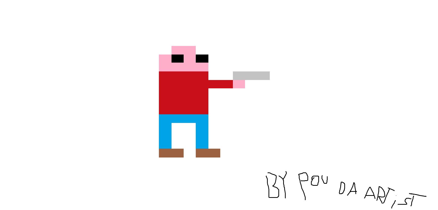 Pixel guy