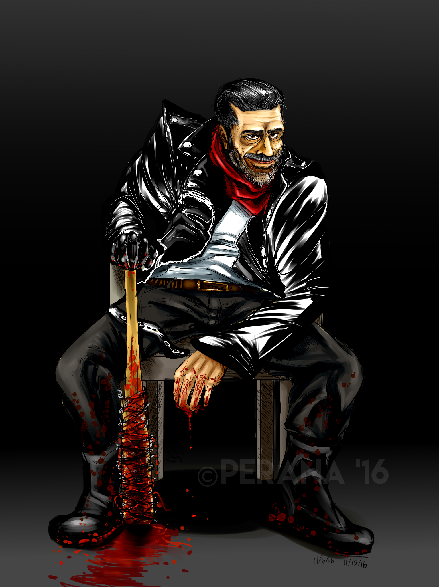 Negan - colored