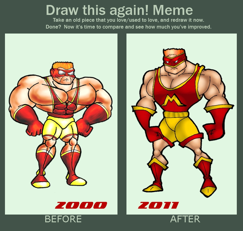 Mondo man then and now01