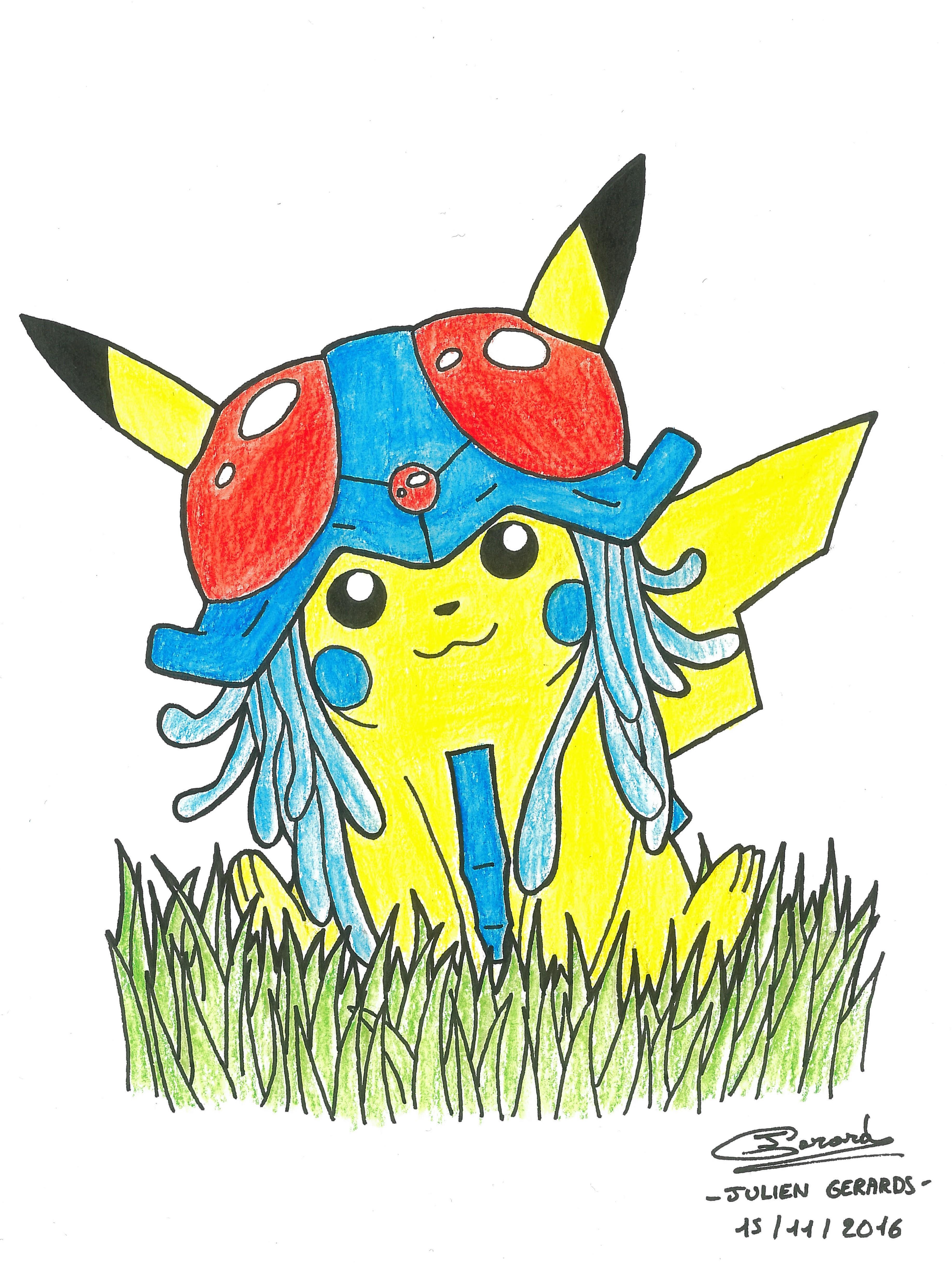 pikachu + tentacruel = tentachu ?