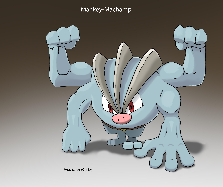 Mankey-Machamp