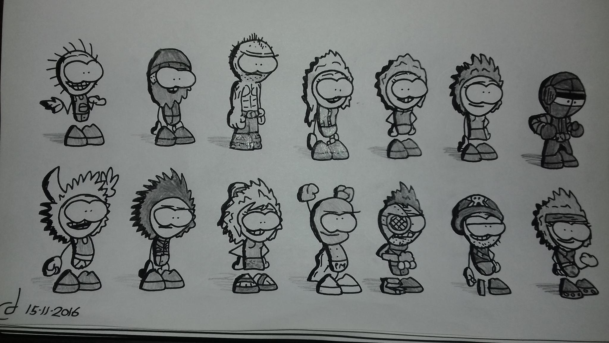 Some sketchin'
