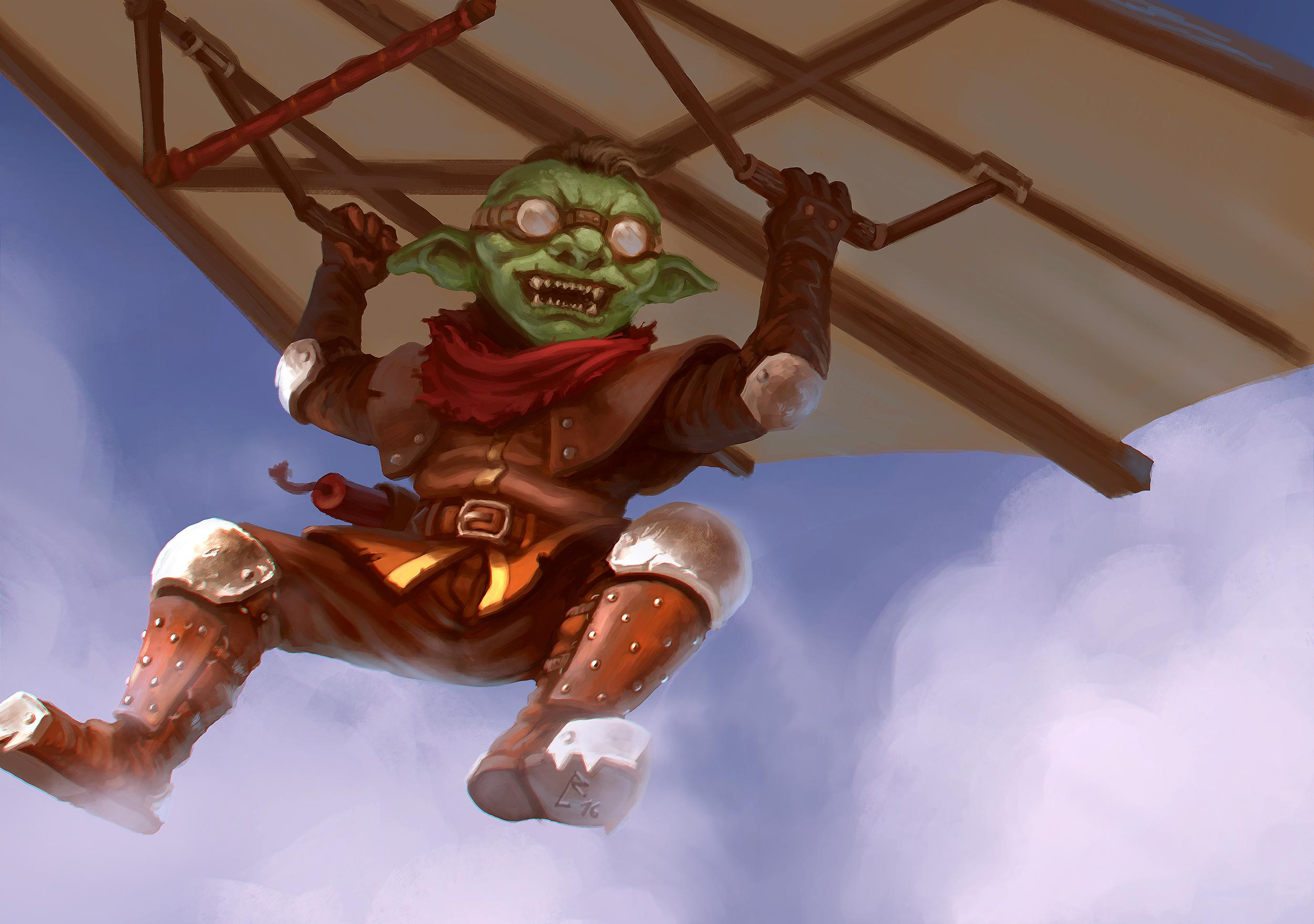 Goblin Kite Rider
